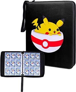 NeatoTek Waterproof Double Sided 40 Pages 9 Pocket Binder, Portable Storage Case with Removable Sheets Holds Up to 720 Car...