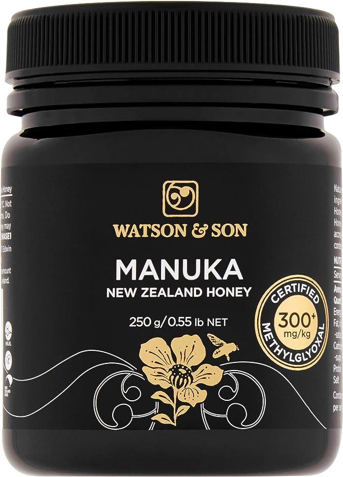 Watson & Son Premium Manuka Miel, certificado MGO, 250 g ...