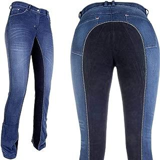 Noir 46 Basic Plus Taille Pantalon d/équitation Jodhpur Pantalon d/équitation pour Femme Covalliero Cov