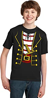 Pirate Buccanneer | Jumbo Print Novelty Halloween Costume Youth T-Shirt