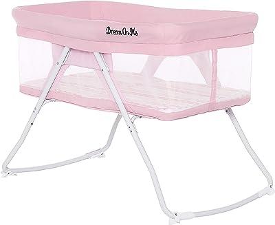 Dream On Me Meghan Portable Bassinet, Pink