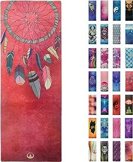 Soul Obsession Printed Yoga Mat, Prana Yoga Mat, Bikram Yoga Mat – Incredibly Comfortable Yoga Mats for Men and Women - Gorgeous Microfiber Printed Designs – Beautiful and Durable Excersize Mat