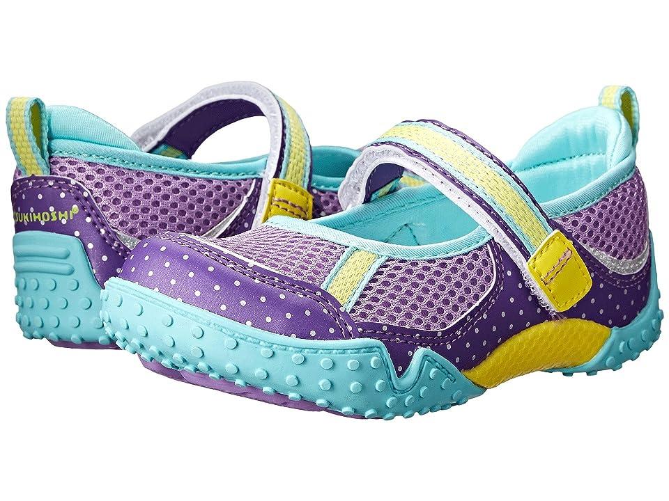 Tsukihoshi Kids Laguna (Toddler/Little Kid) (Purple/Mint) Girls Shoes