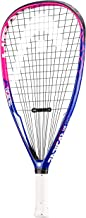 HEAD Graphene Touch Radical 160 Racquetball Racket - Pre-Strung Even Balance Racquet - Paola Longoria Colorway