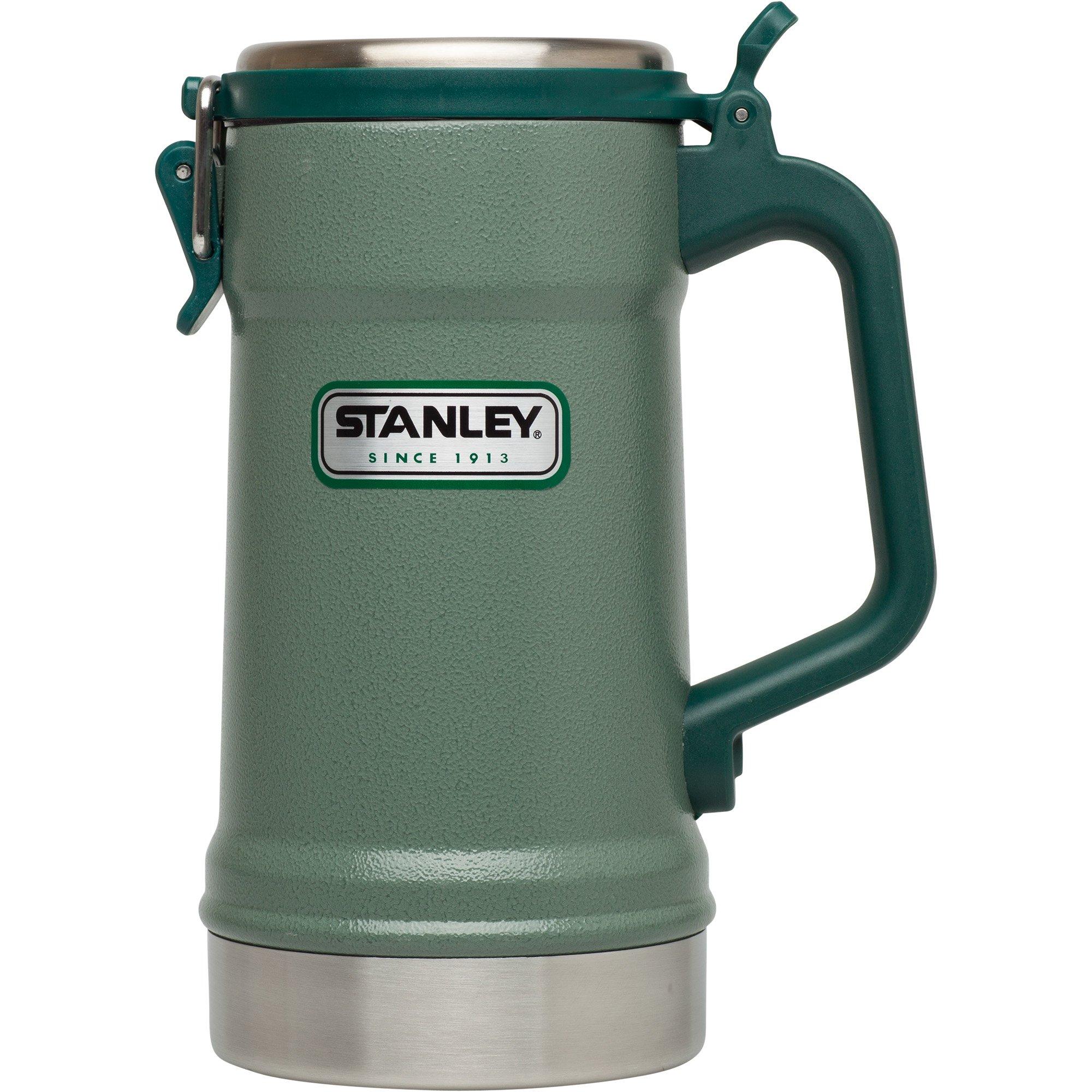 스탠리 스타인 - 손잡이 뚜껑 머그 24oz 710ml 2종 (보냉, 보온, 탄산유지 기능, 개인컵 강력 추천) Stanley Vacuum Stein