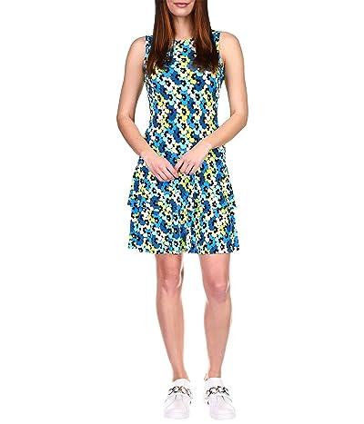 MICHAEL Michael Kors Sixties Sleeveless Flounce Dress
