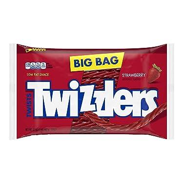 TWIZZLERS Fresa Twists Regaliz, 32 onzas