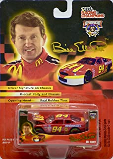 1998 - Racing Champions/NASCAR - Bill Elliott #94 - McDonald's Ford Taurus - 1:64 Scale Die Cast - Includes Box - Collectible - Rare