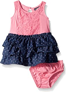 Limited Too Baby Girls' Lace and Denim Dress