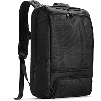 eBags Pro Slim Laptop Backpack (Solid Black)