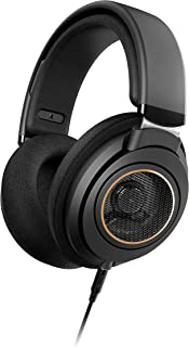 Philips Audio SHP9600 Wired, Over-Ear, Headphones, Comfort Fit, Open-Back 50 mm Neodymium Drivers (SHP9600/00) - Black, 50...