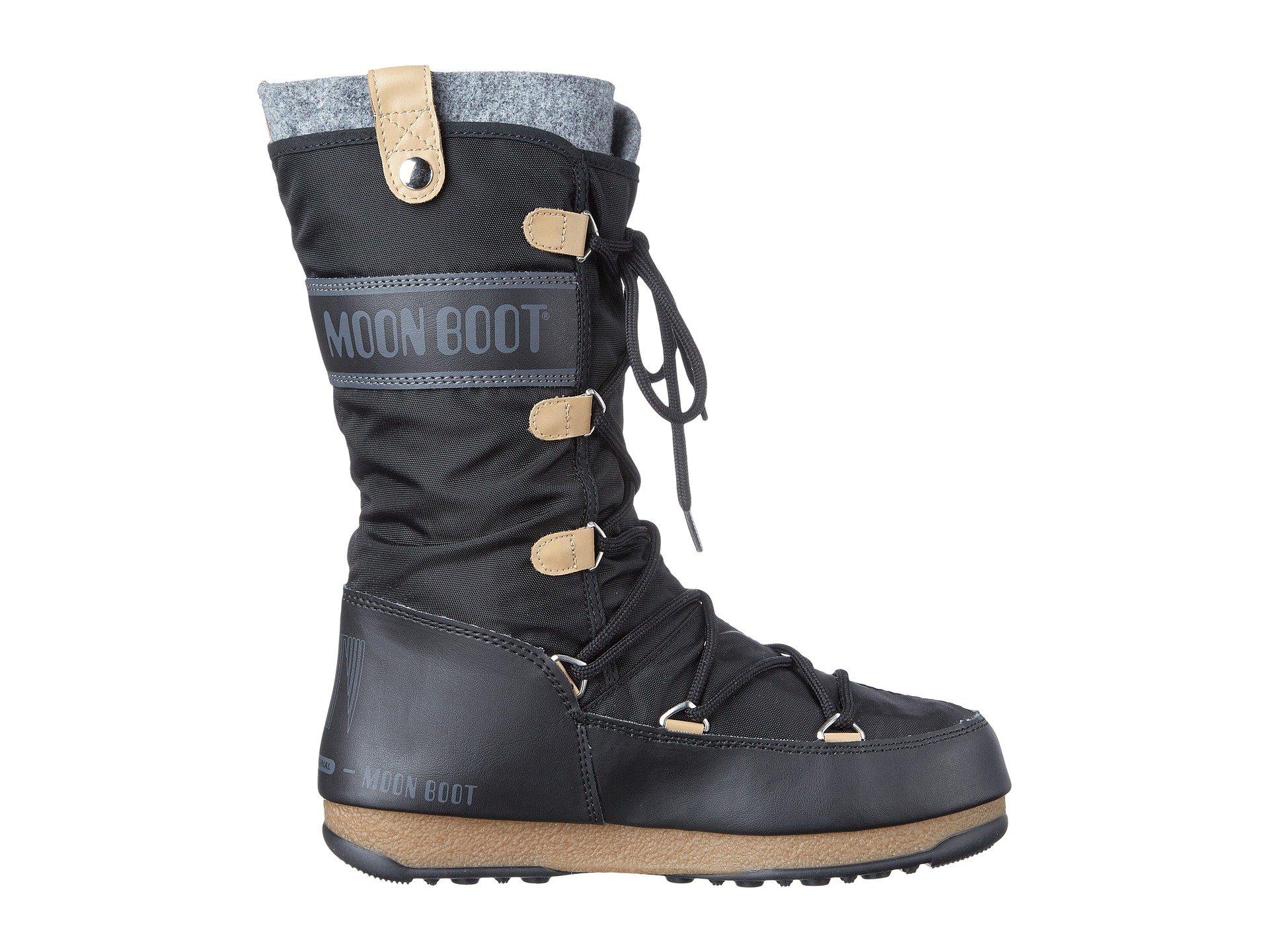 Tecnica Moon Boot® Monaco Felt at Zappos.com