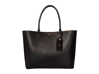 Frances Valentine Trixie Tote (Black 1) Handbags