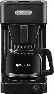 BUNN-O-MATIC CSB1 Speed Brew Select Bunn 10C Brewer Coffee Maker, 10-Cup, Black