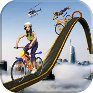 BMX Bicylce Sutns on impossile Tracks