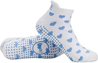 Labor Delivery Push Hospital Non Skid Heart Socks by Baby Be Mine Maternity, Best Baby Shower Gift