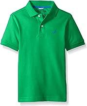 Nautica Boys' Short Sleeve Solid Deck Polo Shirt