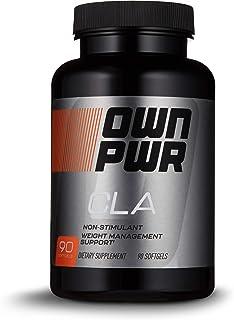 OWN PWR CLA Supplement, Conjugated Linoleic Acid 800 mg, 90 Softgels