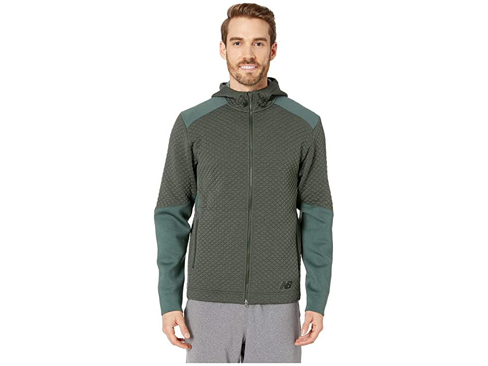New Balance NB Heatloft Full Zip Hoodie (Faded Rosin) Men