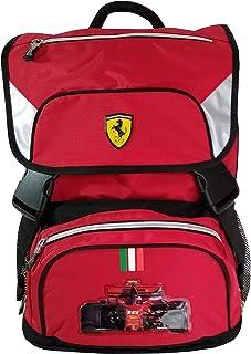 Mochila escolar extensible Ferrari 41 x 29 x 13,5 + 9 cm original 62543