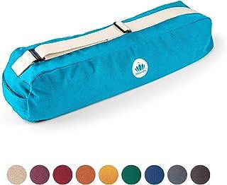 Lotuscrafts Yoga Mat Bag Pune - Fair & Ecological - Yoga Bag Made of 100% Organic Cotton - Yoga Bag for Yoga Mat - Yoga Ma...