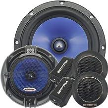 Pair of Audiotek 65C 6-1/2 Inch 2-Way Component Speaker Set with 1000 -Watt Peak Power 340 Watt RMS 170 Watt Per Speaker F... photo
