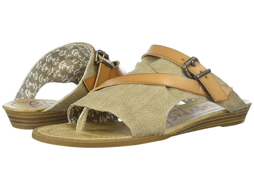 Blowfish Barria (Desert Sand Rancher Canvas/Dyecut PU) Women