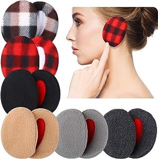 6 جفت گوش محافظ گوش پشم گوسفند گوش گرم کننده گوش گوش زمستان Unisex ، 6 رنگ
