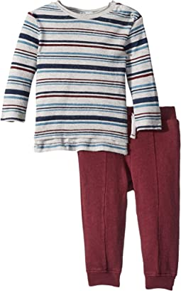 Yarn-Dyed Sweatshirt Set (Infant)