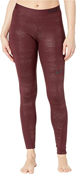 Pro Metallic Dots Print Tights