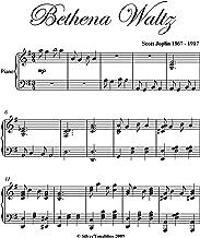 Bethena Waltz Scott Joplin Intermediate Piano Sheet Music