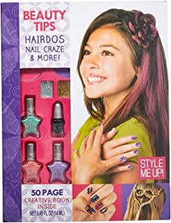 Style Me Up - Kids Makeup Set - Girls Creative Activity Book - Cool Birthday Present for Girls - SMU-13003
