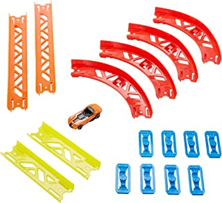 Hot Wheels Track Builder Pack Assorted Curve Parts, multi
