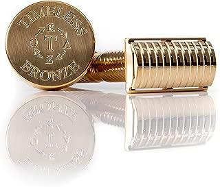 Bronze Safety Razor: by Timeless Razor