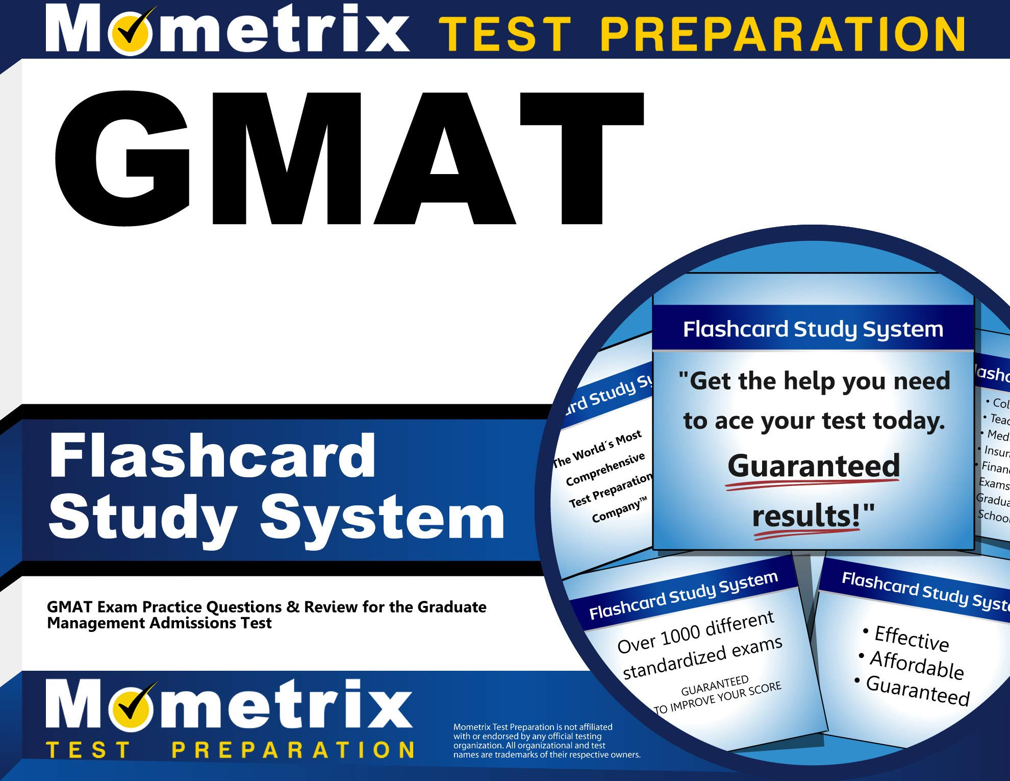 GMAT Flashcard Study System: GMAT Exam Practice Questions and Review for the Graduate Management Admissions Test
