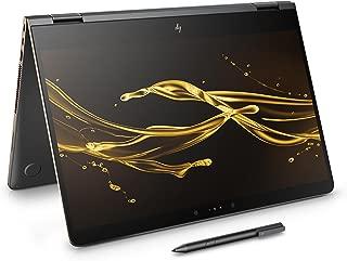 HP Spectre x360 15-bl001na 15.6-inch UHD Touch Screen Convertible Laptop with Stylus (Dark Ash Silver) - (Intel Core i7-7500U, 16GB RAM, 1TB SSD, NVIDIA GeForce 940MX 2GB DDR5 dedicated, Windows 10)