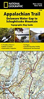 Appalachian Trail, Delaware Water Gap to Schaghticoke Mountain [New Jersey, New York] (National Geographic Topographic Map Guide)