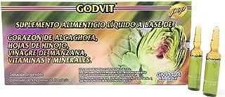 Artichoke Liquid Supplement Vial Ampolletas de Alcachofa GN+Vida - 10 Day Supply Alcachofivida