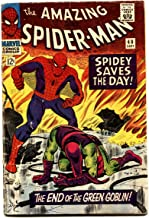 AMAZING SPIDER-MAN #40 comic book 1966-Death of the Green Goblin