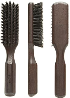 Made in Germany Since 1920 - SHASH Pure 100% Boar Bristle Hair Brush Suitable For Thin To Normal Hair, Firm - Naturally Conditions Hair, Improves Texture - Exfoliates, Soothes and Stimulates the Scalp