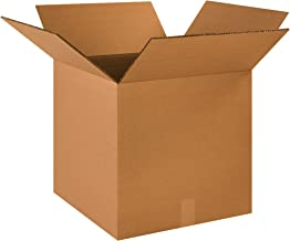 """Boxes Fast BFHD1818DW Double Wall Corrugated, Heavy-Duty Cardboard Boxes, 18"""" x 18"""" x 18"""", for Shipping, Packing and Moving Protection, Kraft (Pack of 10)"""