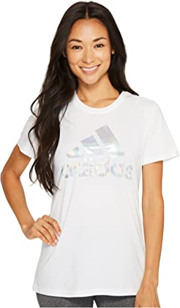 adidas - Badge of Sport Iridescent Mesh Tee