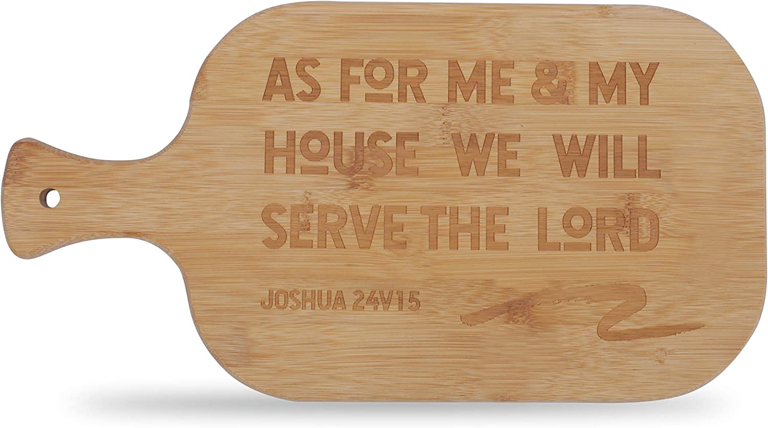 epiphaneia Christian Bamboo Cutting Fashion Board As Special Campaign Bible Scripture Fo