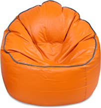 VSK Bean Bag Sofa Mudda Cover XXXL Orange (Without Beans)