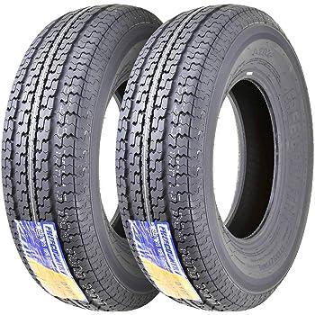 One Heav Duty FREEDOM HAULER Trailer Tire ST205//75R15 10PR Load Range E Steel Belted Radial