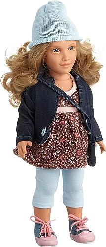comprar nuevo barato Mariquita Pérez- Dañota Vest.Flores Caz.Jeans muñeca, Color Carne (Comercial de de de Juguetes Maripe SL 1)  moda