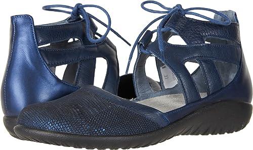 NAOT Footwear damen& 039;s Lace-up Kata schuhe Navy Reptile Lthr Ink Lthr Polar Sea Lthr - 35 M EU   4-4.5 B (M) US