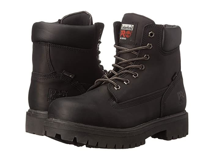 Timberland PRO  Direct Attach 6 Steel Toe (After Dark Full-Grain Leather) Mens Work Lace-up Boots