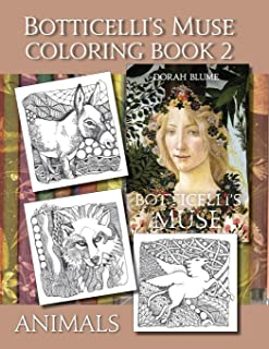 Botticelli's Muse Coloring Book 2: Animals