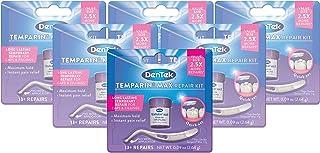 DenTek Temparin Max Hold | Temporarily Repairs Caps, Crowns, Fillings | 2.64 gram | Pack of 6